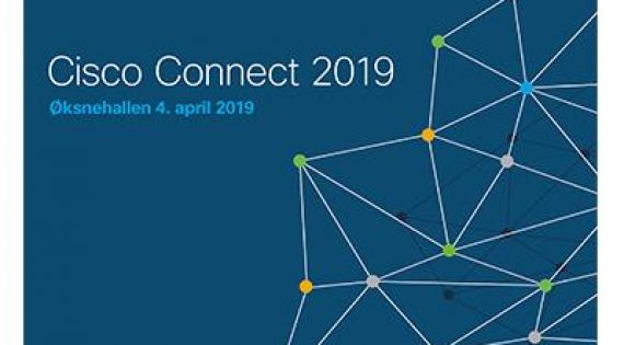 Vi står på Cisco Connect 2019!